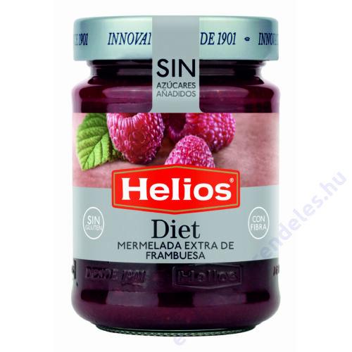 Helios Málna extradzsem édesítővel 280g