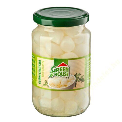 GreenHouse gyöngyhagyma 370ml 320/180g