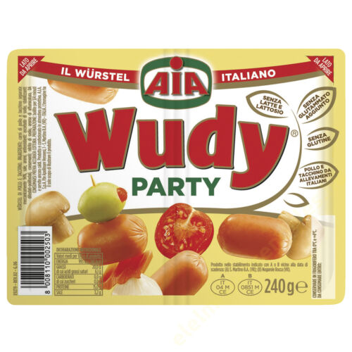 AIA Wudy Party frankfurti 240g