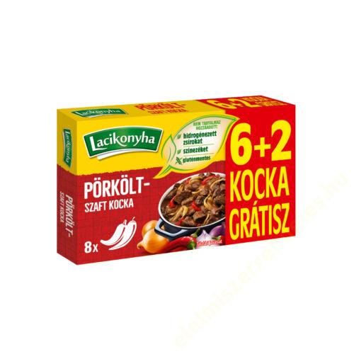 Lacikonyha Ízmester Pörköltszaft ízesítő kocka 60g+20g