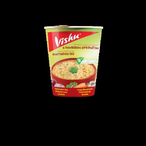 Vishu poharas instant leves 65g Marha ízű