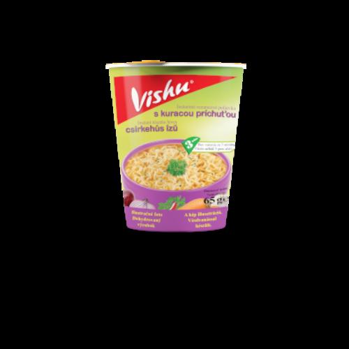 Vishu poharas instant leves 65g csirke ízű