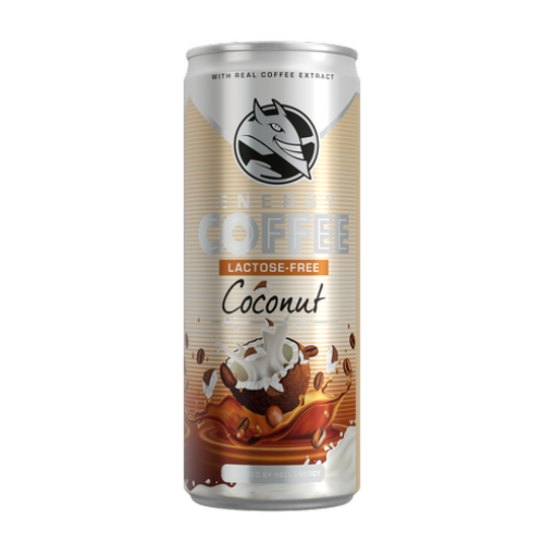Hell Energy Coffee 250ml Kókusz